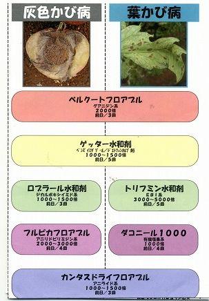 トマトの農薬