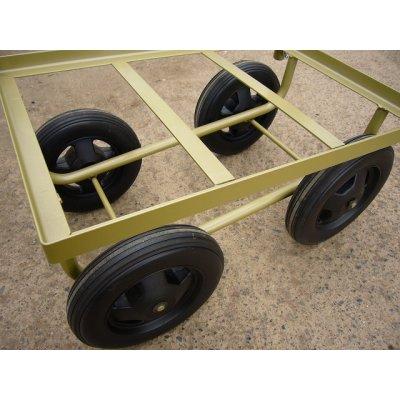 画像4: 農業資材  替タイヤ 1本(ナット1個付)  (ハウスカーマーク2用  )