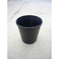 接木・生産資材 ポリ鉢黒 つかめるポット 27cm