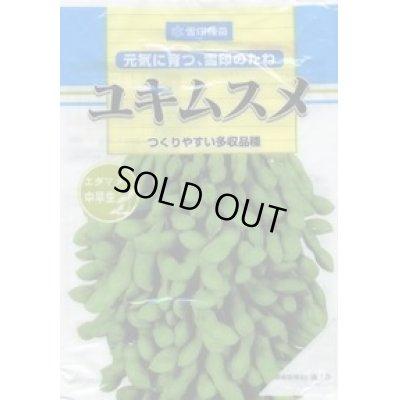 画像1: [枝豆] ユキムスメ 1L 雪印種苗