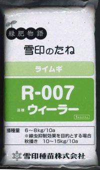 [緑肥] ライ麦 R-007 1kg  雪印種苗