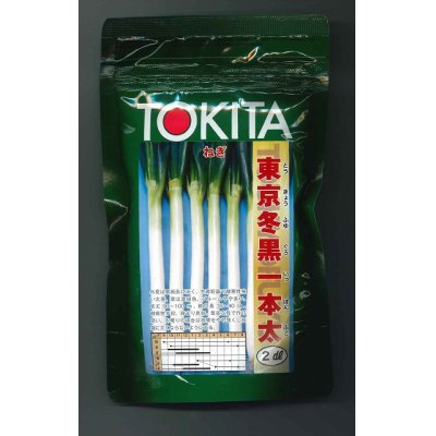 画像1: [ねぎ] 東京冬黒一本太 2dl トキタ種苗