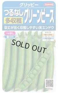[グリーンピース] つるなし グリーンピース 小袋 サカタのタネ(実咲シリーズ)