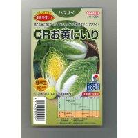 [白菜] CRお黄にいり 100粒 ペレット種子 タキイ交配