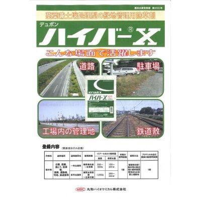 画像2: 農薬 除草剤 ハイバーX ブロマシル水和剤 100g