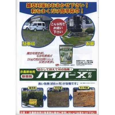 画像2: 農薬 除草剤 ハイバーX 粒剤 1kg(袋タイプ) 丸和バイオケミカル株式会社