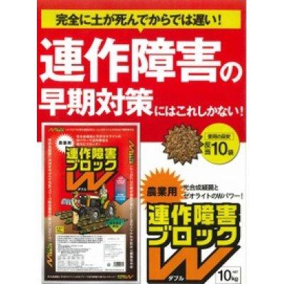 画像2: 土壌改良材 連作障害 ブロックW 10kg