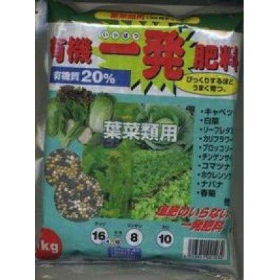 画像1: 肥料 有機一発肥料 葉菜類用