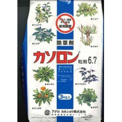 画像1: 農薬 除草剤 カソロン粒剤  3kg