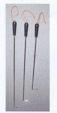 農業資材 杭ぬきフック棒 まっすぐの直タイプ